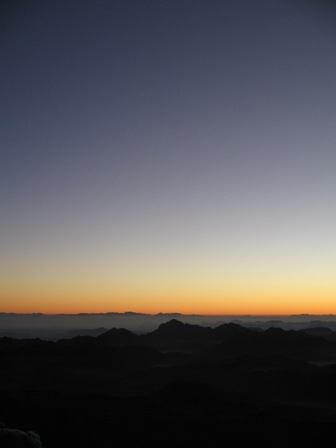 Sunrise from the peak of Mount Sinai I - Global Gallery
